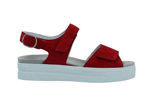 Semler, rote Sandalette, Artikel A1015042066