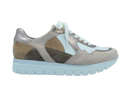 Semler, weisse beige Sneaker, Artikel S2035309999