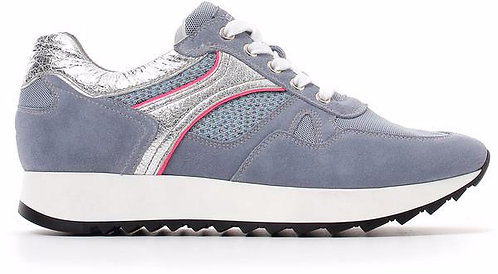 NeroGiardini, blauer Sneaker, Artikel E010523D239