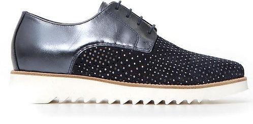 blauer NeroGiardini Sneaker, E115097D207, Seitenansicht