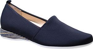 Hassia, schwarzer Loafer Slipper, Artikel 9-301787/0100