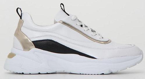 weiss NeroGiardini Sneaker, E115200D707, Seitenansicht