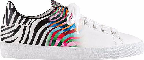 Högl, Sneaker weiss bunt multi,  Artikel 9-100358/0299, Seitenansicht