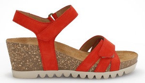 Gabor, rote Sandalette,Artikel 45.661.15