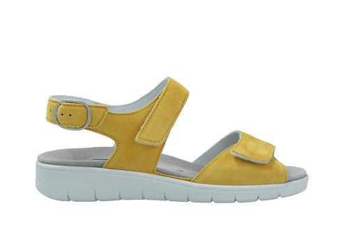 Semler, gelbe Sandalette, Artikel D4045042098