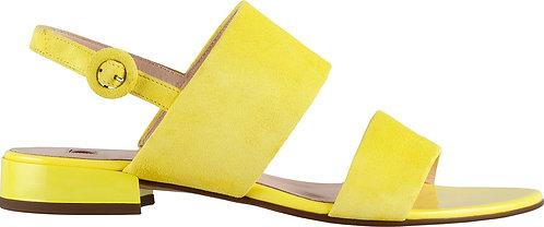 Högl, Sandalette gelb, Artikel 9-101112/8400, Seitenansicht