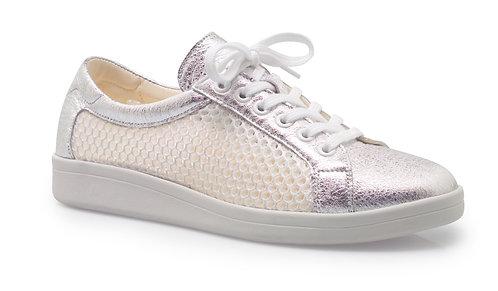 Christian Dietz, Weiss Silber Sneaker,  Artikel 7252405127