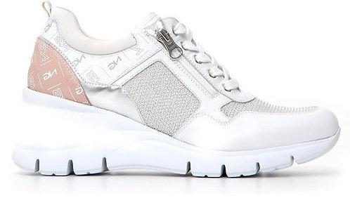 weiss NeroGiardini Sneaker, E115134D707, Seitenansicht