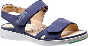 Ganter, blaue Sandalette, Artikel 9-200122/3500