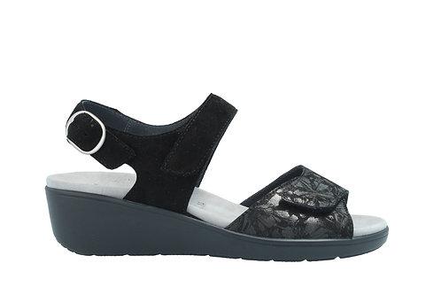 Semler, schwarze Sandalette, Artikel R9045868001