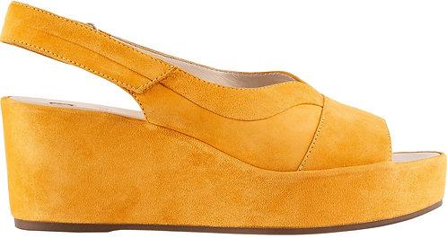 Högl, Sandalette gelb, Artikel 9-103252/9200, Seitenansicht