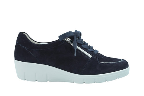 Semler, blaue Sneaker Halbschuhe, Artikel J7085441080