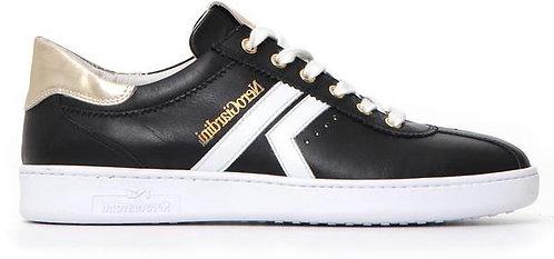 schwarze NeroGiardini Sneaker, E115250D100, Seitenansicht