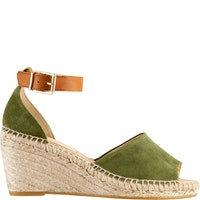 grüne Högl Sandalette 1-161050-2400