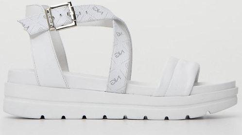 weisse NeroGiardini Sandalette E115701D707