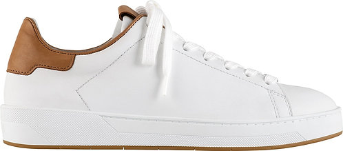 Högl, Sneaker weiss braun, Artikel 9-101500/0225, Seitenansicht