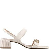 Högl Sandalette 1-103516-1200, Creme, Seitenansicht
