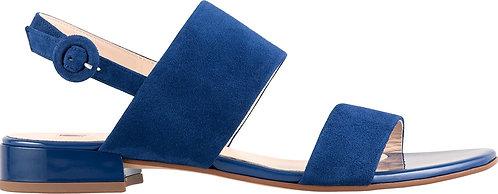 Högl, Sandalette blau, Artikel 9-101112/3100, Seitenansicht