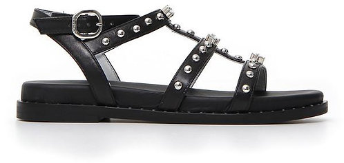 schwarz NeroGiardini Sandalette E115521D100