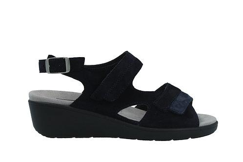 Semler, blaue Sandalette, Artikel R9015981080