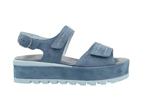 Semler, blaue Sandalette, Artikel F2035042076