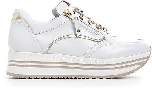 NeroGiardini, weisser Sneaker, Artikel E010560D707