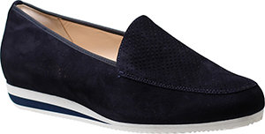 Hassia, blauer Loafer Slipper, Artikel 9-301454/3000