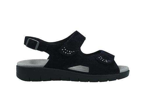 Semler, blaue Sandalette, Artikel D4115042080