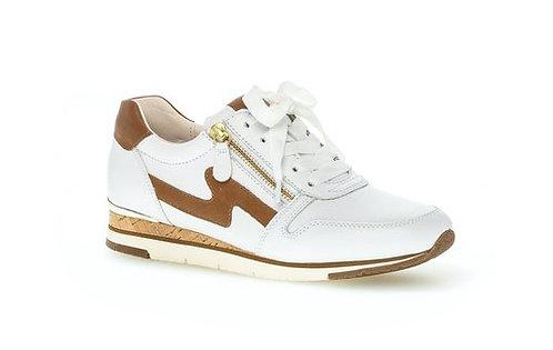 weiss Gabor Sneaker 63.430.21, Seitenansicht