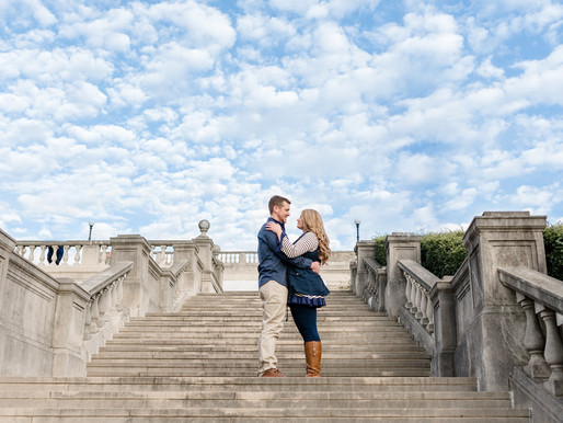 Nicole & Kyle Engagement Session | Ault Park, Cincinnati | Kayla Bertke photography & design