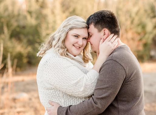 Allison and Kenny   Oaks Quarry engagement session   Kayla Bertke photography & design