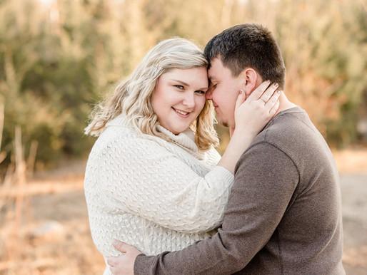 Allison and Kenny | Oaks Quarry engagement session | Kayla Bertke photography & design