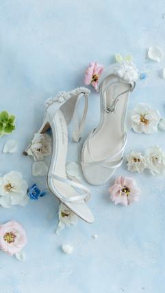 Ohio wedding photographer, dayton wedding photographer, light and airy, wedding, details, flatlays invitation suite bella belle shoes