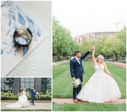Kelly & Justin | The Grand Event Center, Columbus Wedding | Kayla Bertke photography & design