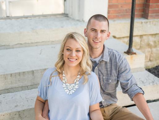 Downtown Engagement session | Jordan & Jesse | Tipp City Ohio | Kayla Bertke photography & design