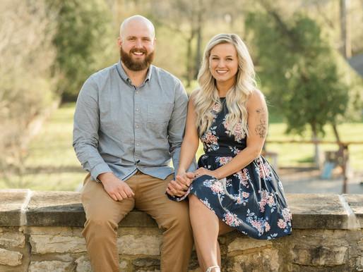 Engagement Session | Centerville Ohio | Hayley & Nick | Kayla Bertke Photography & Design