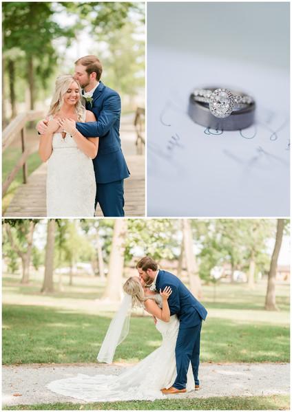 Amy and Chase | Summer Catholic Wedding | 8.21.21 | Kayla Bertke photography & design