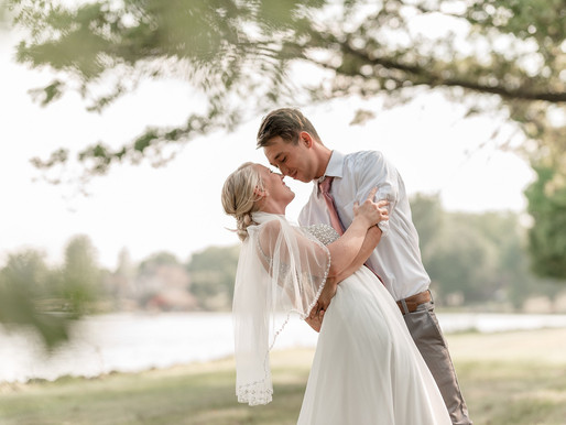 Choctaw Lake Wedding | Kandra & Ryan | Kayla Bertke photography & Design