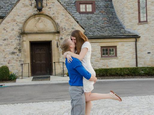 Engagement Session in Centerville, Ohio - Kelsey & Jason | Kayla Bertke Photography & Design