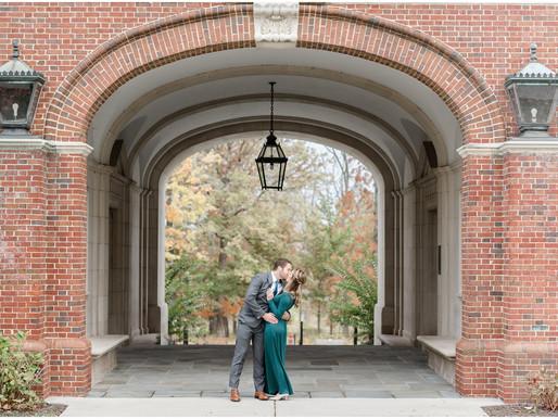 Katie and Spencer | Miami University Engagement session |  Kayla Bertke photography & design