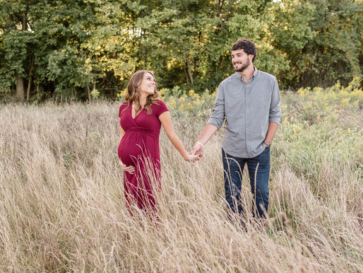 Fall Maternity session | Danielle & Garrett | Kayla Bertke photography & design