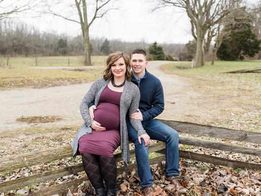 Kristin & Tyler | Maternity Session | Carriage Hill | Kayla Bertke photography & design