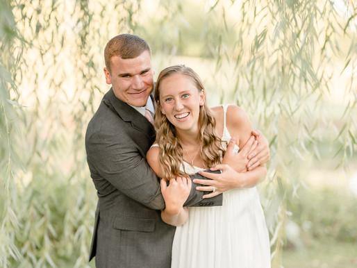 Abby & Scott | sunset engagement session | Kayla Bertke Photography & design