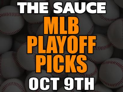 VIP MLB Saturday October 9th