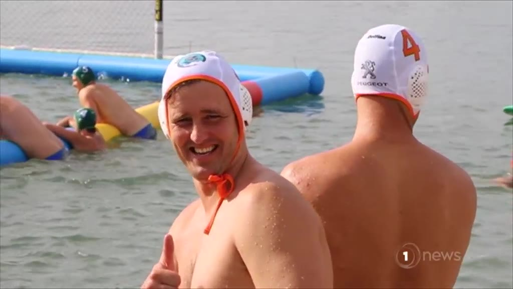 1 NEWS: Water polo takes to the sea in Tauranga