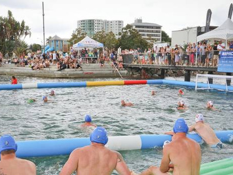 BOP Times: Waterfront water polo makes a splash in Tauranga