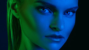The colorful world of the Savage RGB Portrait Kit