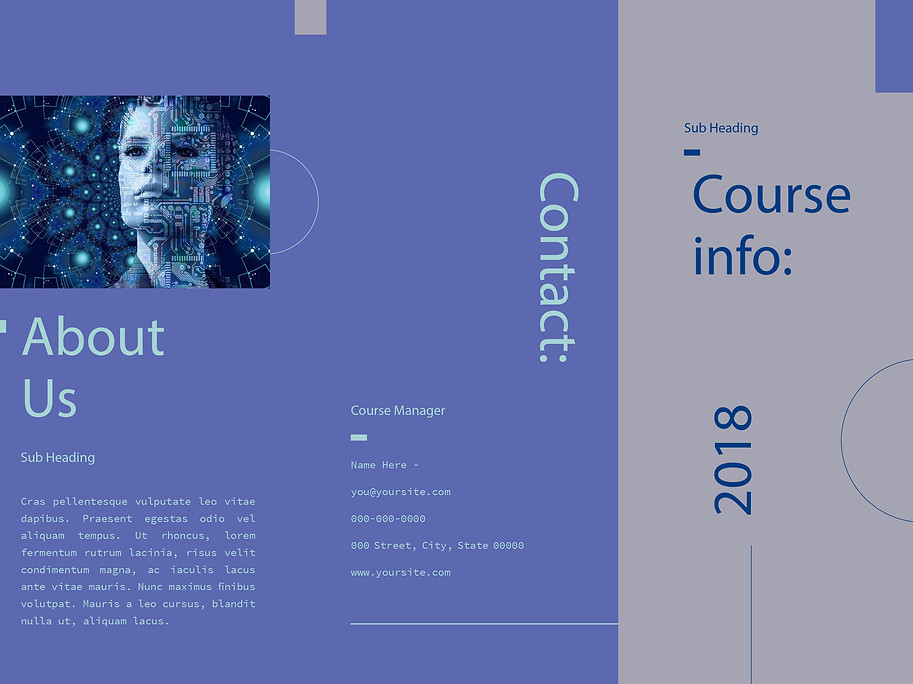 Trifold Brochure-front