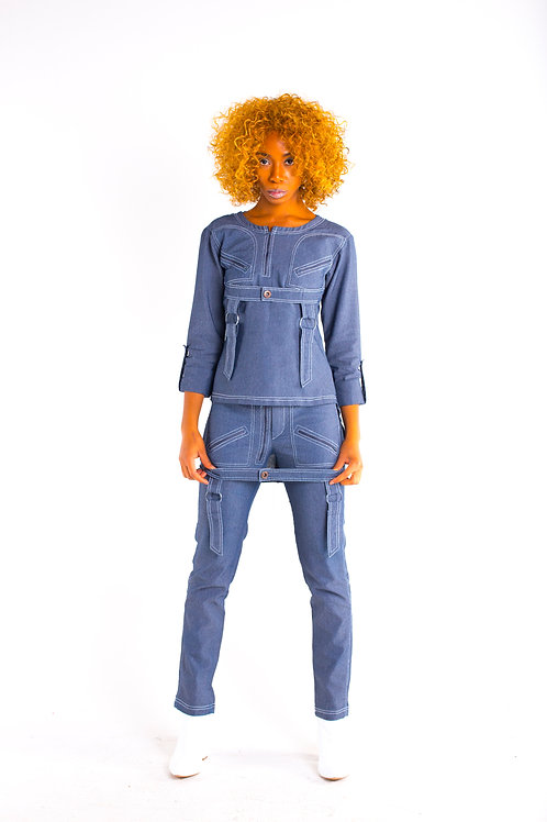 OVERALL HIGH-LO TOP