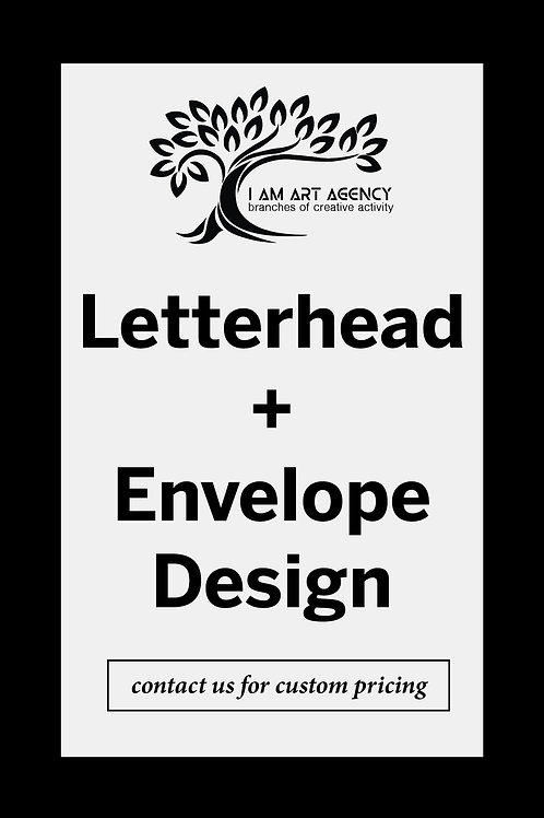 Letterhead + Envelope Design